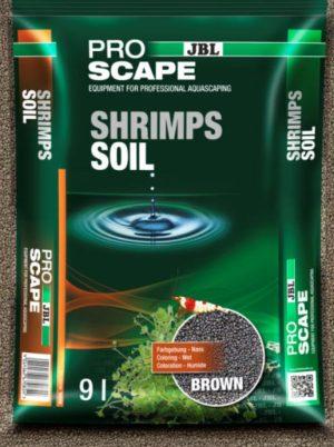 jbl proscape shrimps soil brown 9L