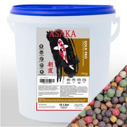 ASAKA Gold Pro 6mm 10L